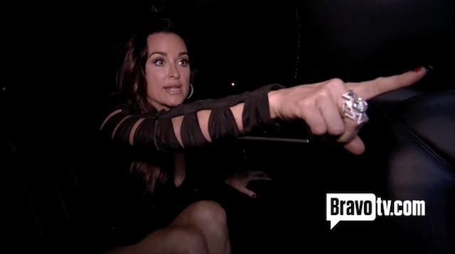 Kyle Richards Season 1 Limo Fight With Kim Richards - RHOBH