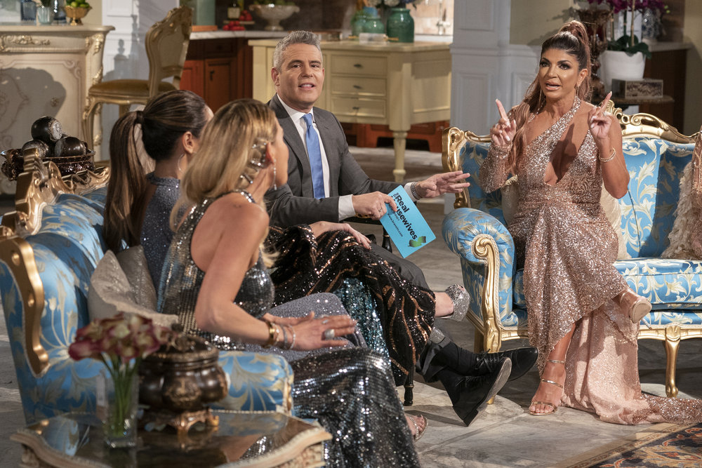 "Teresa Giudice Calls Jackie ""White Trash"" And A Stalker In Reunion Trailer"