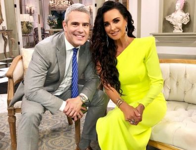 "Andy Cohen Says There Was ""Plenty Of Confrontation"" At The Real Housewives Of Beverly Hills Reunion- Check Out The Photos"