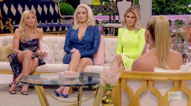 Camille Grammer Lisa Rinna Erika Jayne Real Housewives Of Beverly Hills Reunion