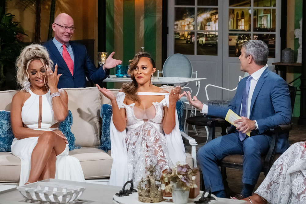 Michael Darby Argues With Real Housewives Of Potomac & Husbands At Reunion- Check Out Cast Photos From Reunion Taping