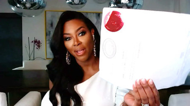 Real Housewives Of Atlanta Kenya Moore Marriage License
