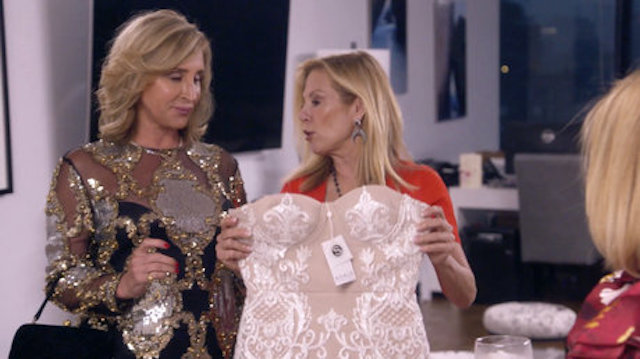 Real Housewives Of New York Sonja Morgan Ramona Singer Dress