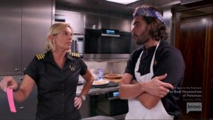 Below Deck Mediterranean Captain Sandy Yawn Kiko Lorran
