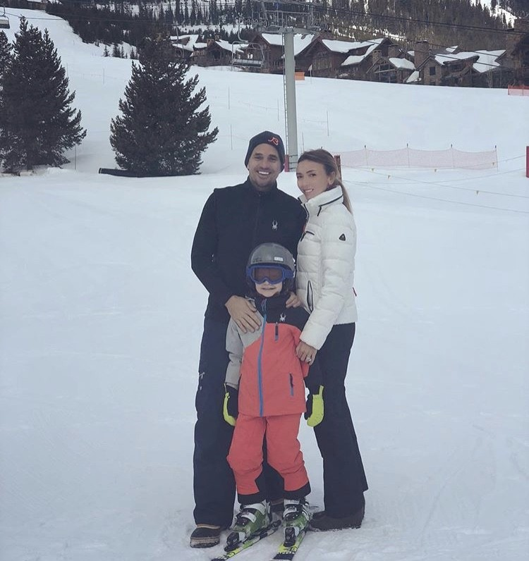 Giuliana & Bill Rancic With Their Son Duke