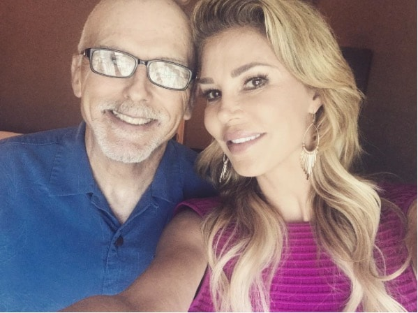 Brandi Glanville & Her Father, Guy