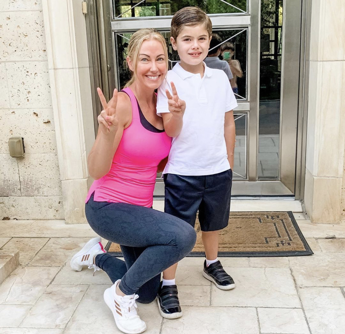 Stephanie Hollman & Her Son Cruz