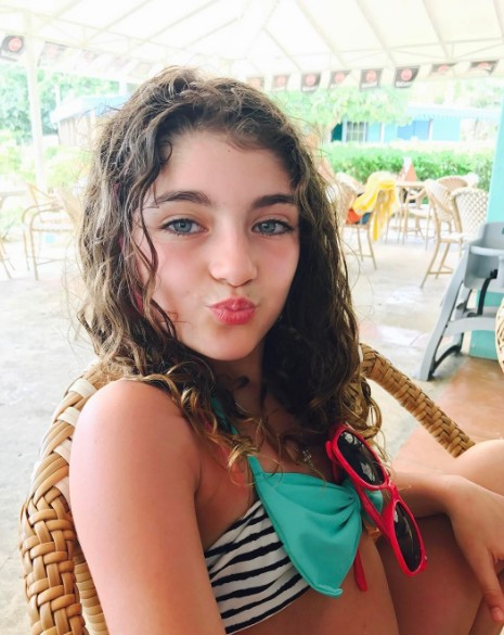 Audriana Relaxing On Vacation