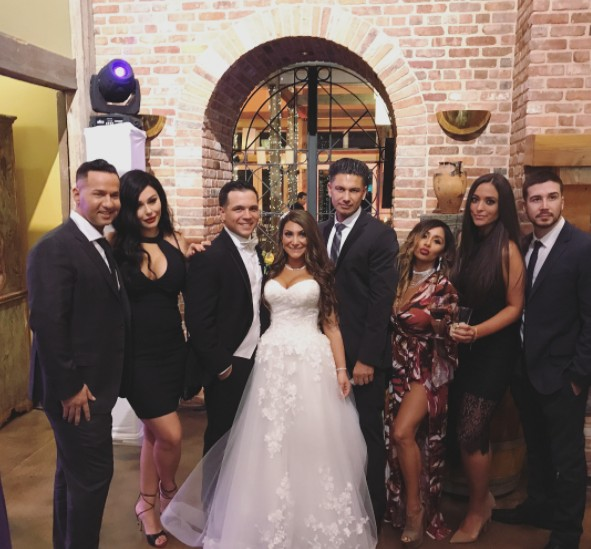 Jersey Shore Cast At Deena's Wedding