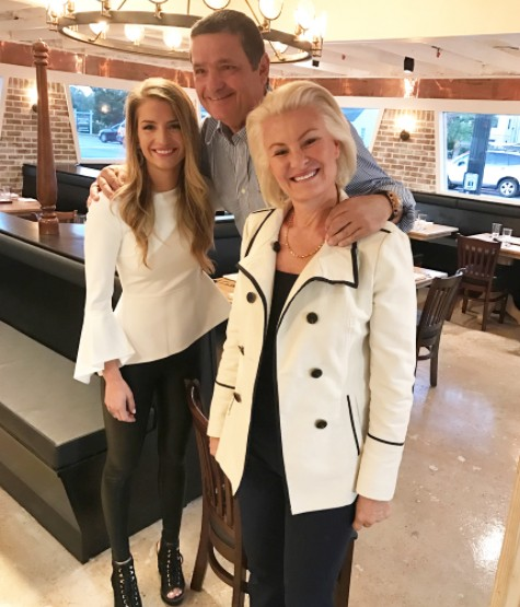 Naomie Olindo & Her Parents
