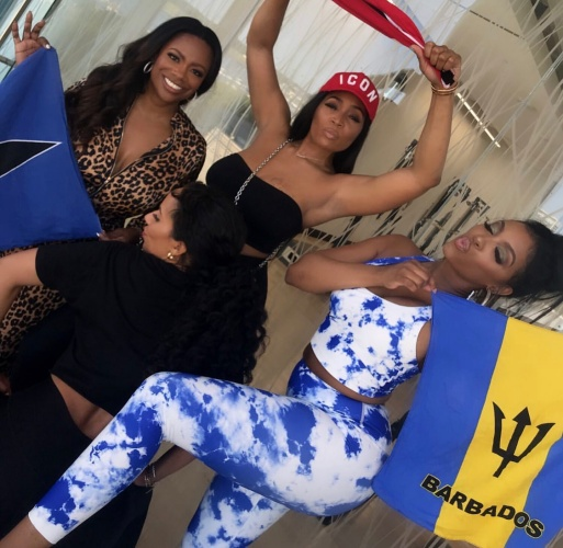 Kandi Burruss, Marlo Hampton, Tanya Sam, & Porsha Williams