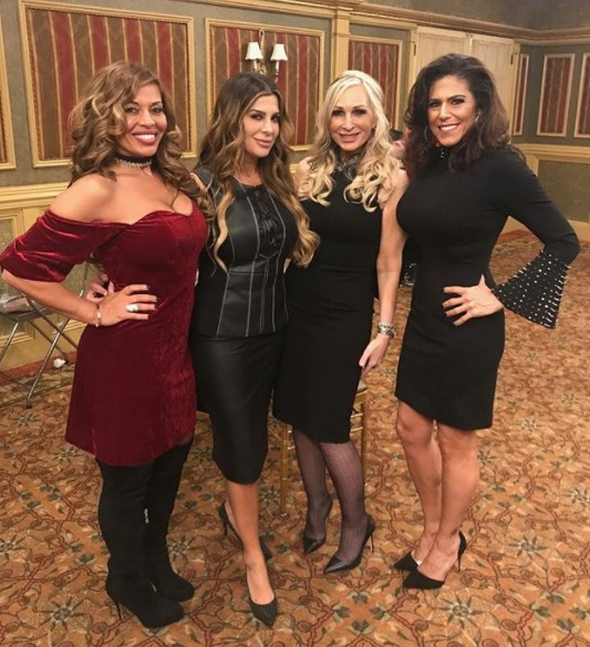 Dolores Catania & Siggy Flicker With Kim D At The Posche Fashion Show