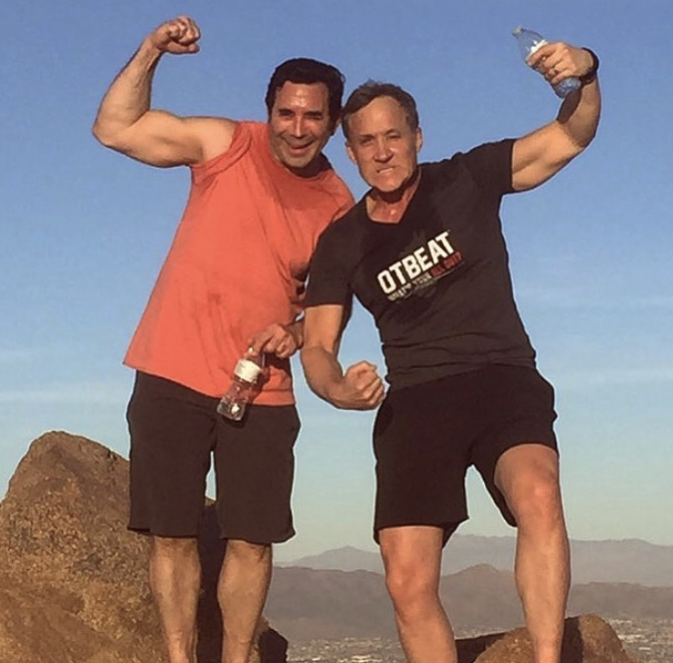 Paul Nassif & Terry Dubrow On A Hike