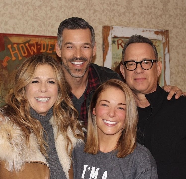 LeAnn Rimes & Eddie Cibrian Hanging With Tom Hanks & Rita Wilson