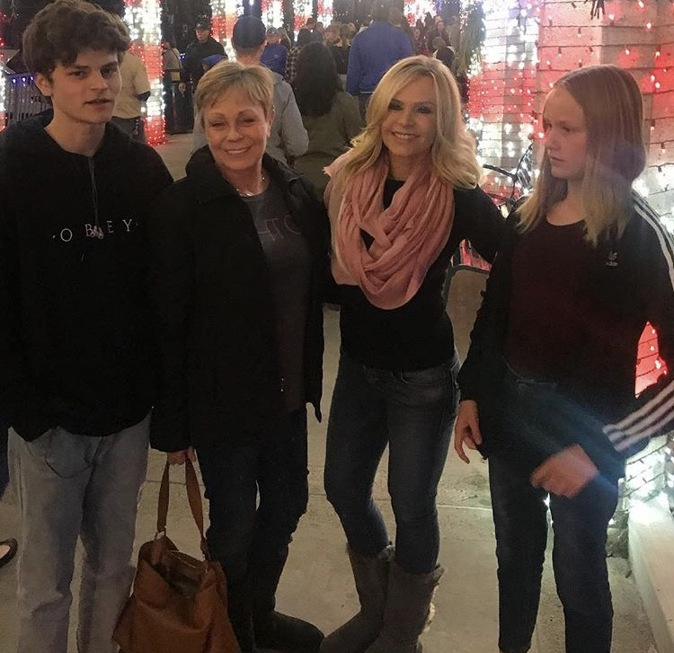 Tamra Judge With Her Mother & Two Of Her Kids