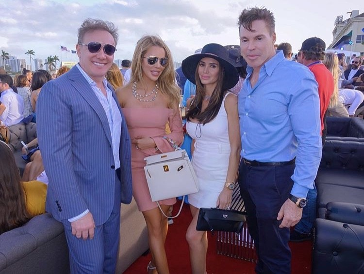 Lenny & Lisa Hochstein With Friends