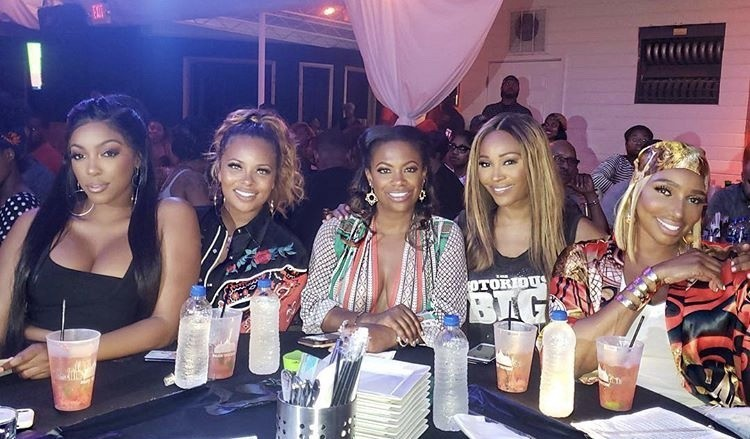 Porsha Williams, Eva Marcille, Kandi Burruss, Cynthia Bailey, & NeNe Leakes