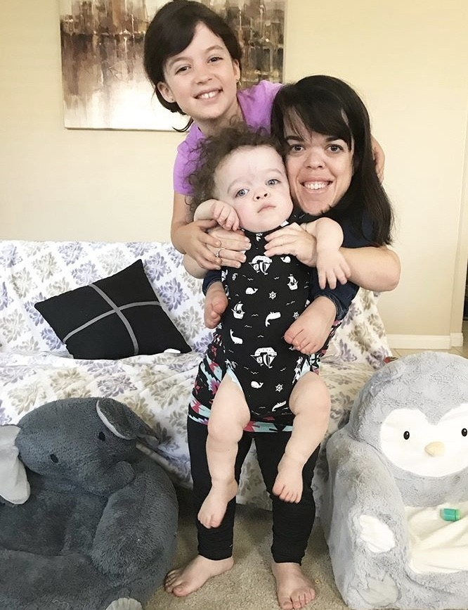 Briana Renee With Her Kids