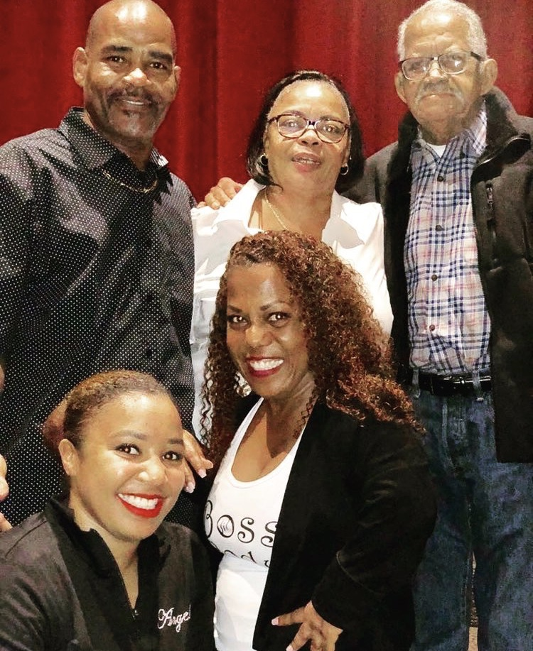 Tonya Banks With Her Family