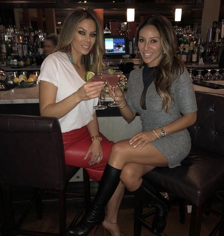 Melissa Gorga With A Friend
