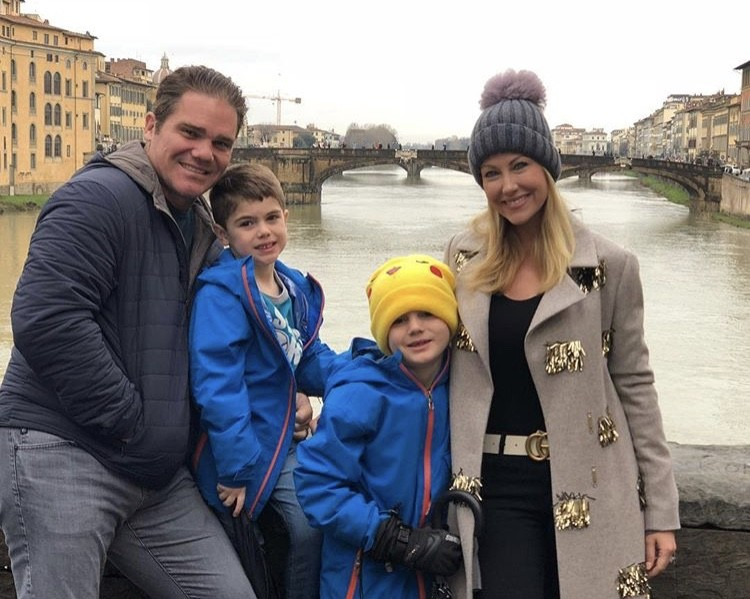 Travis & Stephanie Hollman With Their Sons