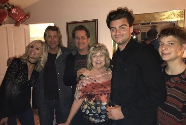Eileen Davidson With Her Family