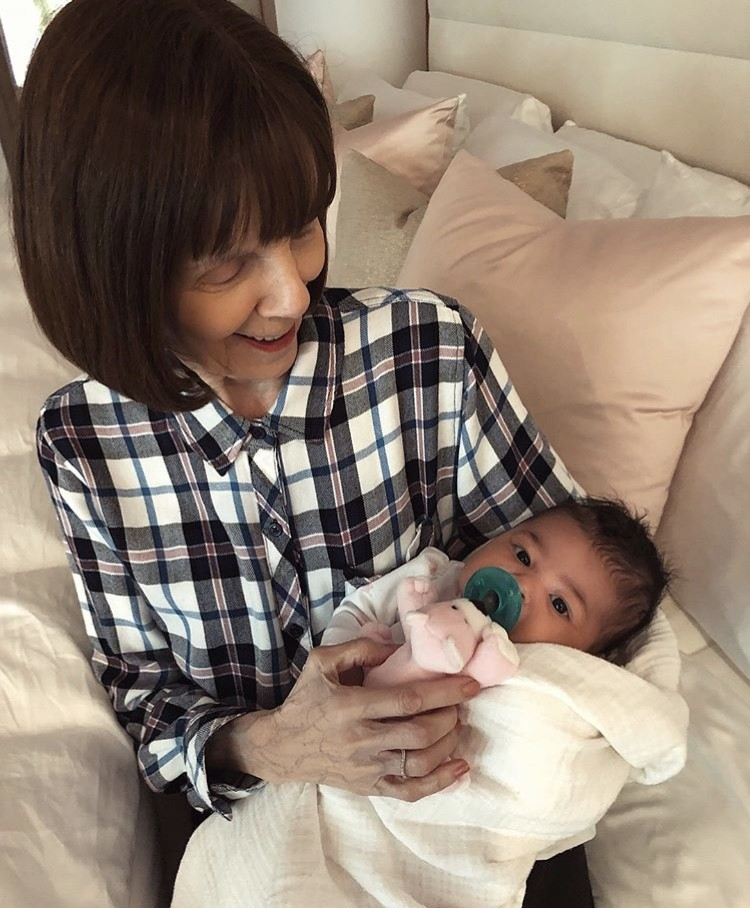 Grandma MJ With Kylie Jenner's Daughter Stormi