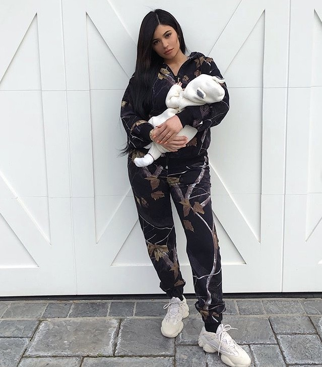 Kylie Jenner & Her Daughter Stormi