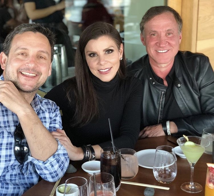 Heather & Terry Dubrow With Heather's Cousin