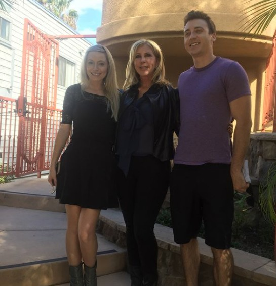 Vicki Gunvalson At Her Son's Home In San Diego