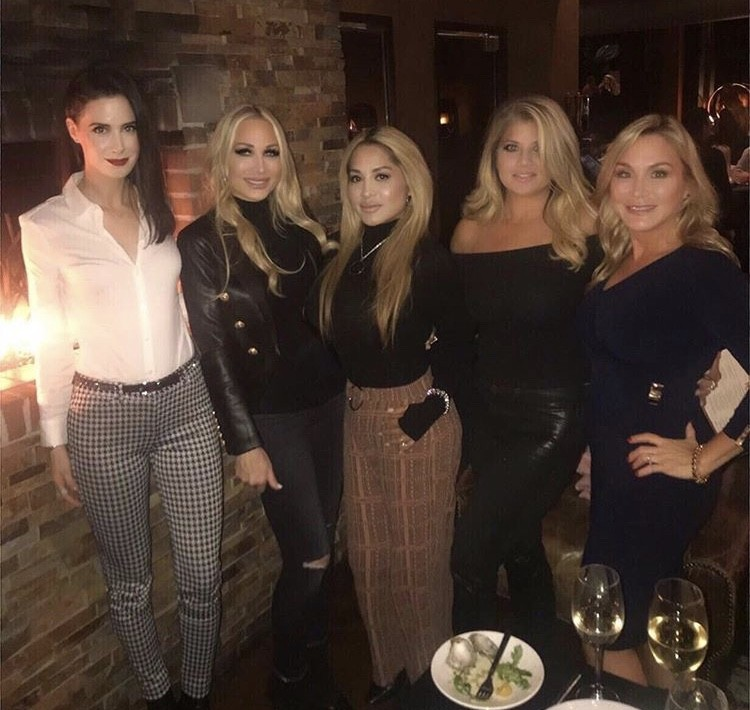 Kim DePaola With Friends