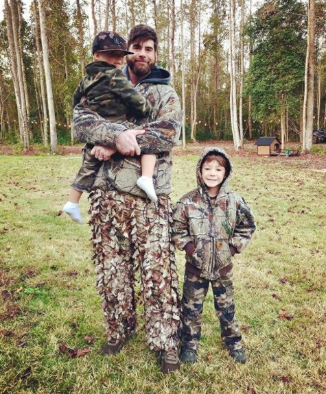 David Eason With His Family