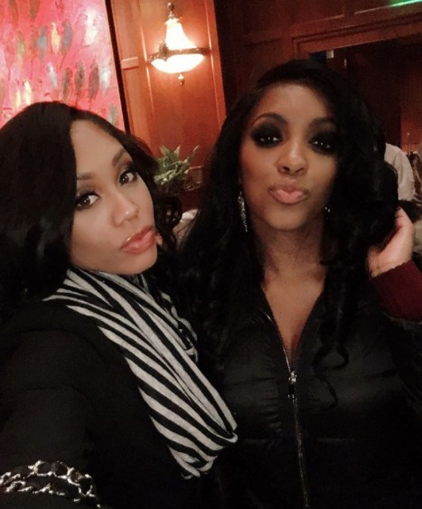 Monique Samuels Supporting Porsha Williams In Her Play