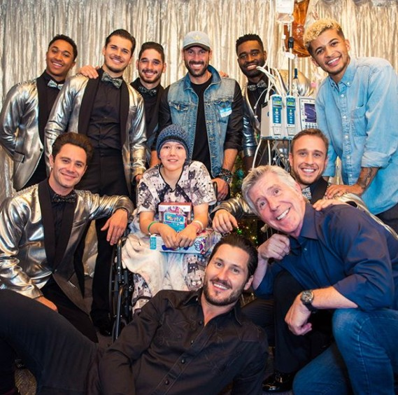 Dancing With The Stars Guys With A Children's Hospital LA Patient
