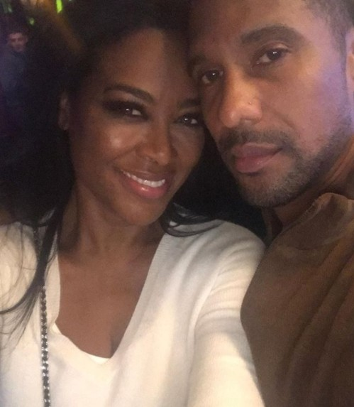 Kenya Moore & Husband Marc Daly