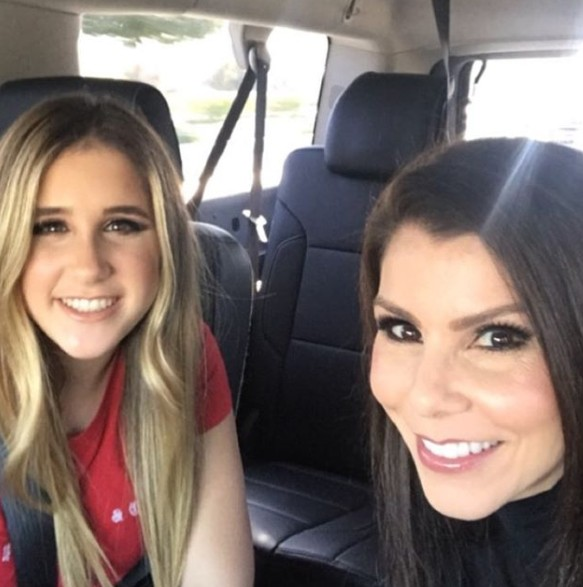 Heather Dubrow With Her Daughter Max