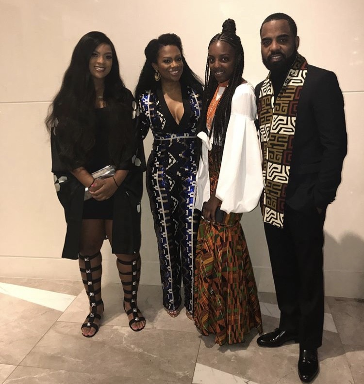 Kandi Burruss & Todd Tucker With Their Daughters