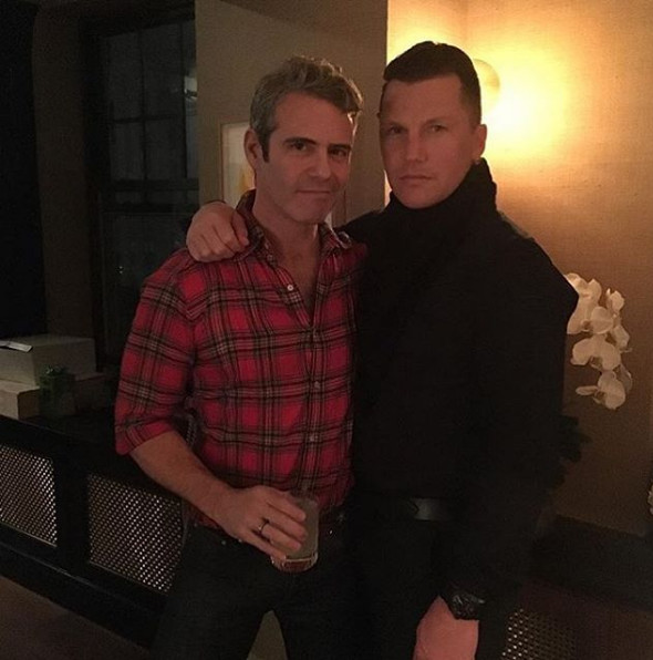 Andy Cohen & Sean Avery
