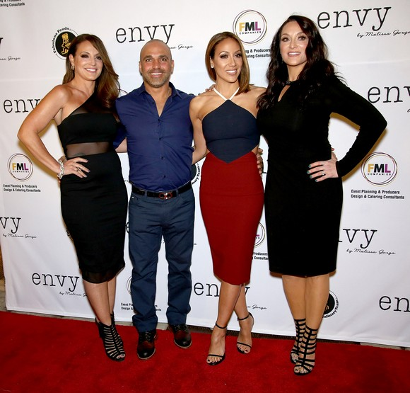 Melissa Gorga with Sisters Lysa & Kim