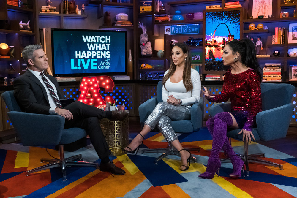 Andy Cohen, Melissa Gorga, & LeeAnne Locken