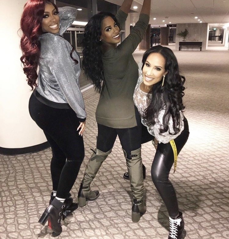 Porsha Williams, Shamea Morton, & Tanya Sam