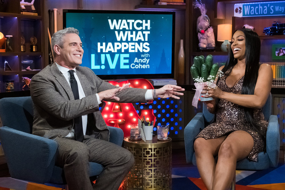 Andy Cohen & Porsha Williams