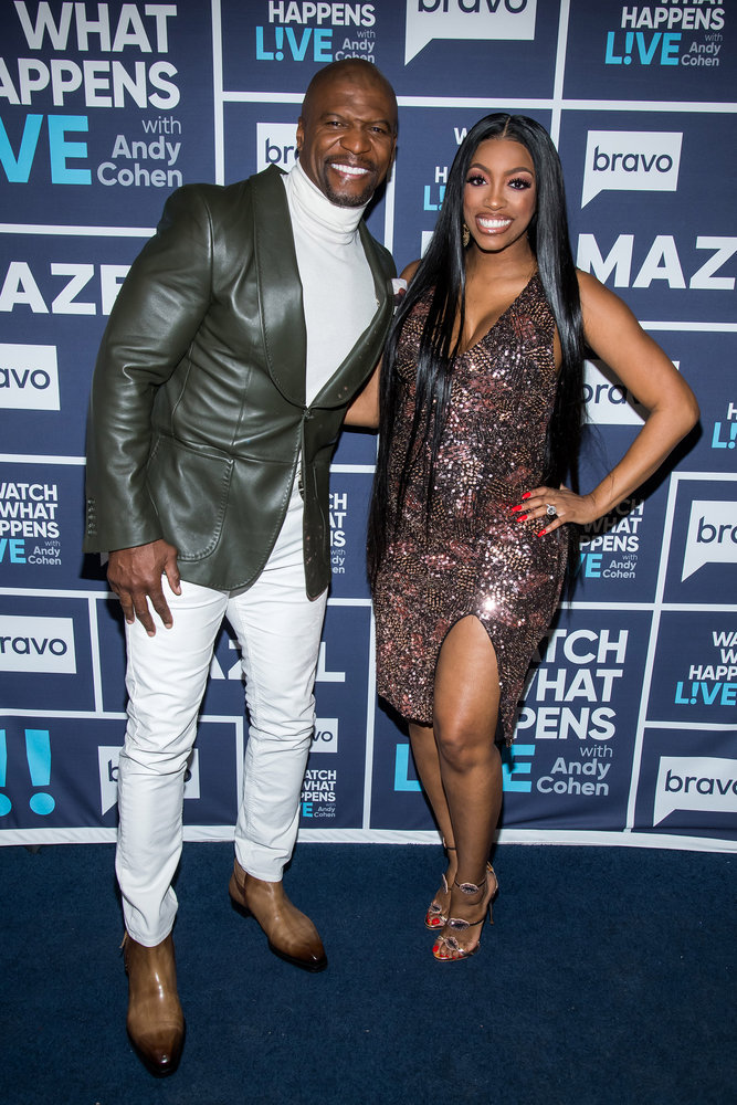 Terry Crews & Porsha Williams