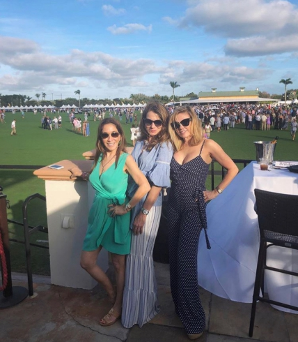 Ramona At The International Polo Club In Palm Beach