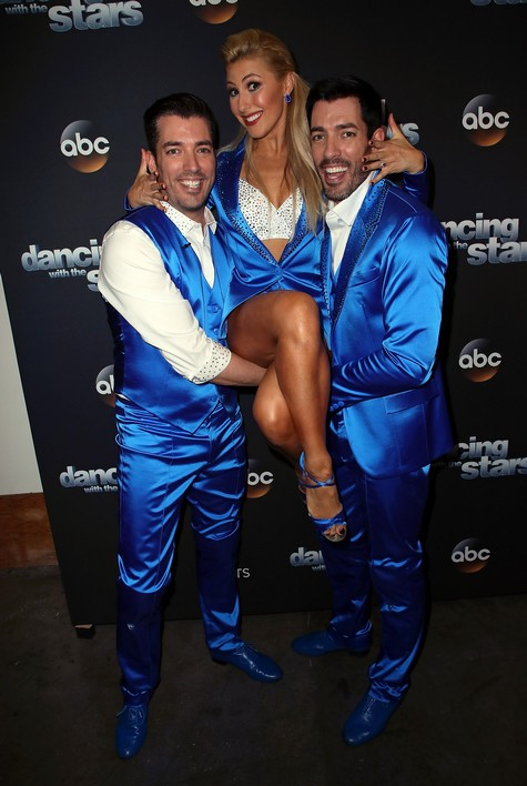 Jonathan and Drew Scott & Emma Slater