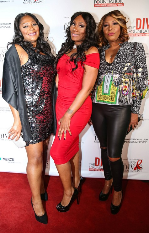 Trina, Towanda and Evelyn