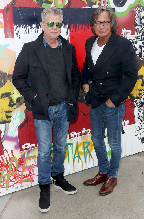 David Foster & Mohamed Hadid