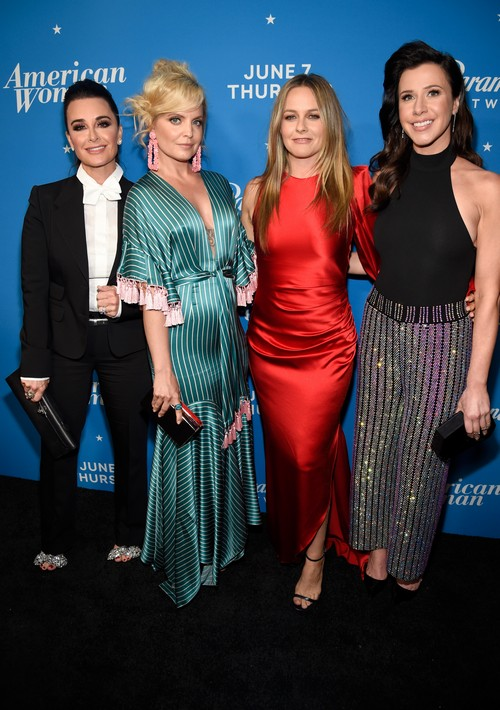 Kyle Richards & Cast of American Woman