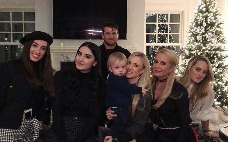 Kim Richards With Her Kids & Nieces