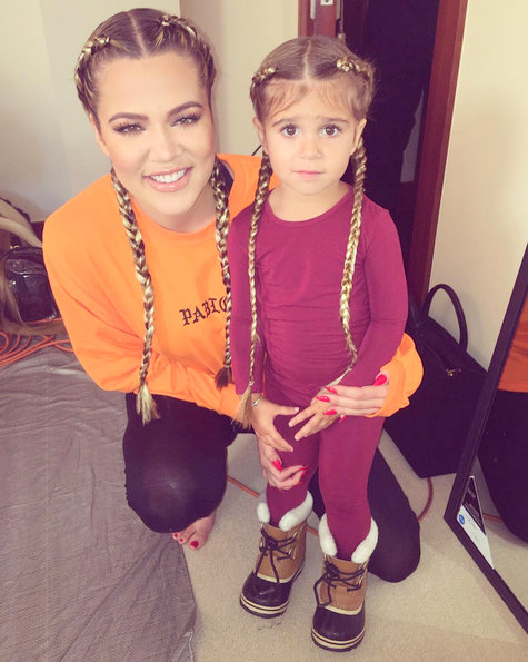 Khloe and Penelope